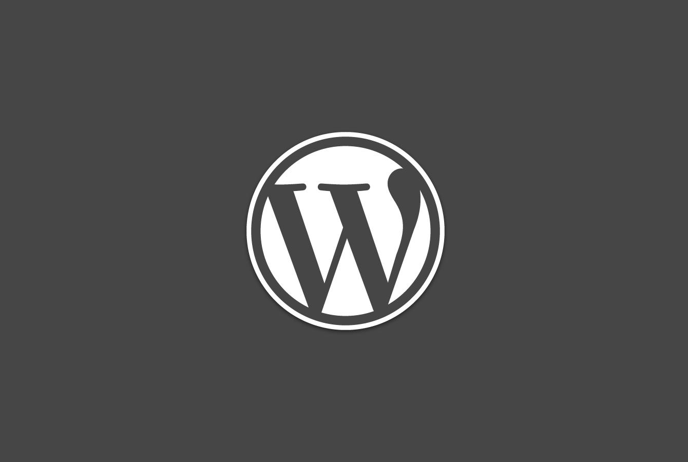 WordPress getting started