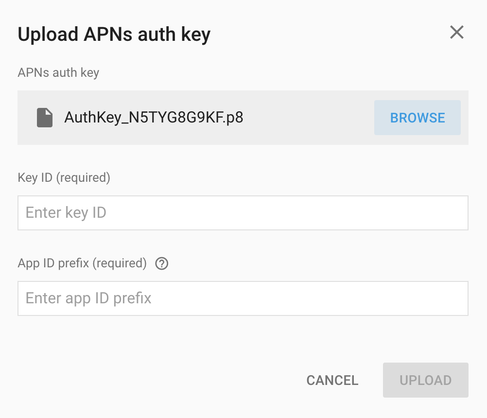 Push notifications on iOS with Firebase - PROGRESSIO